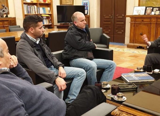 Με συνδικαλιστικούς εκπροσώπους του προσωπικού του Λιμενικού Σώματος συναντήθηκε ο Γ. Χατζημάρκος