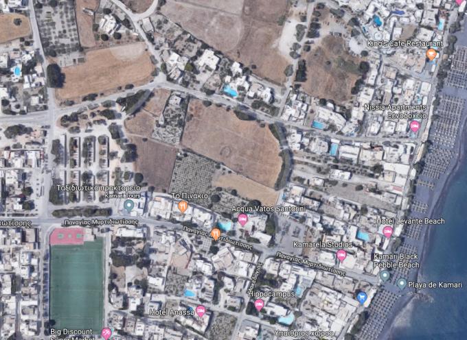 Στον αέρα το έργο κατασκευής πεζοδρομίου και οι κυκλοφοριακές ρυθμίσεις στο Καμάρι