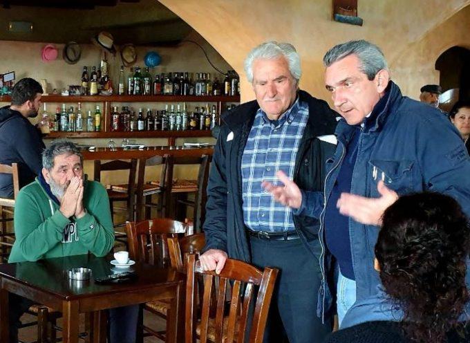 Γ. Χατζημάρκος από το Κουφονήσι: «Είμαστε εδώ για να πούμε στους κατοίκους του Αιγαίου ότι παίρνουμε δύναμη και πιστεύουμε σ' αυτούς»