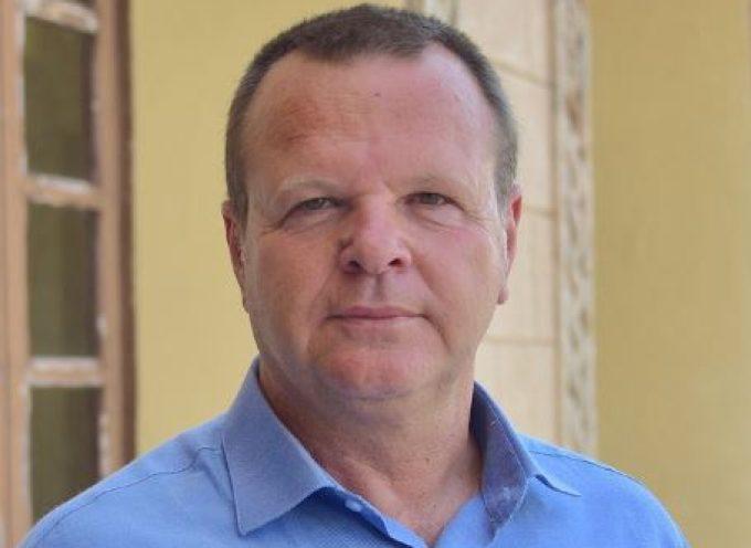 Ο Χρήστος Ευστρατίου, υποψήφιoς και πάλι δίπλα στον Γιώργο Χατζημάρκο