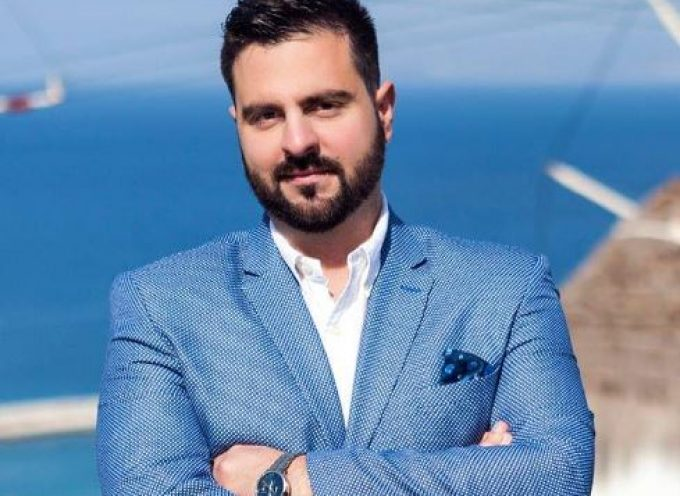 Υποψήφιος για δεύτερη θητεία στο πλευρό του Περιφερειάρχη, Γιώργου Χατζημάρκου, ο Αντιπεριφερειάρχης Στέλιος Μπρίγγος