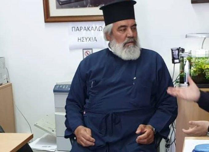 Επίσκεψη Μανόλη Ορφανού στη Θηρασιά και συνάντηση με κατοίκους και φορείς