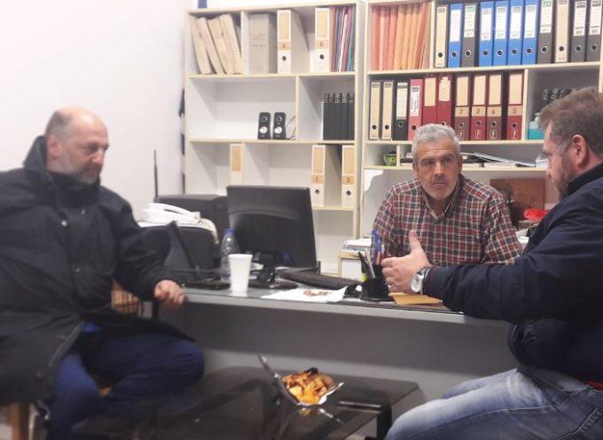 Με μέλη της Δ.Κ Μεσαριάς συναντήθηκε ο Μανόλης Ορφανός