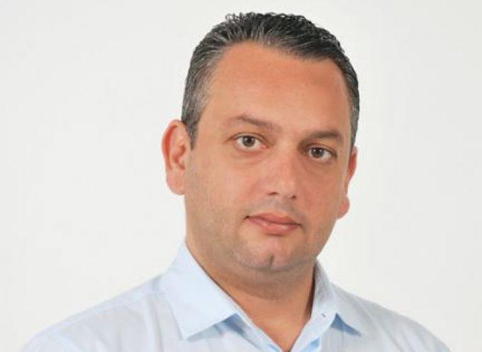 Υποψήφιος στο πλευρό του Περιφερειάρχη, Γιώργου Χατζημάρκου, ο Θωμάς Τσίκκης από την Ιαλυσό