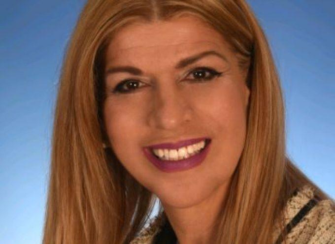 Η Βάνα Αγγελοπούλου – Μανωλάκη υποψήφια με τον Γιώργο Χατζημάρκο