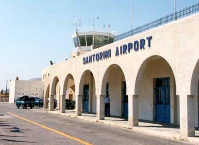 Ο Αερολιμενάρχης Θήρας για τα μέτρα προσωρινού περιορισμού μετακίνησης επιβατών