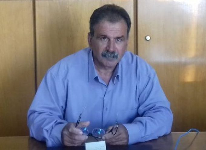 Ο Μιχάλης Αλαχούζος, από την Κάλυμνο, υποψήφιος με τον Γιώργο Χατζημάρκο