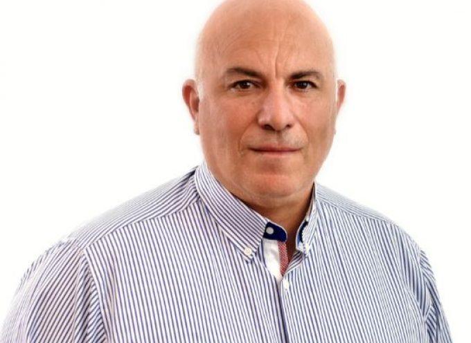 Υποψήφιος για δεύτερη θητεία στο πλευρό του Περιφερειάρχη, Γιώργου Χατζημάρκου, ο Έπαρχος Μήλου, Νίκος Βενάκης