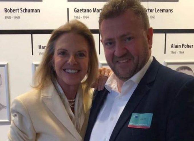 Με την Ευρωβουλευτή Ελίζα Βοζεμπεργκ συναντήθηκε ο Μανόλης Ορφανός