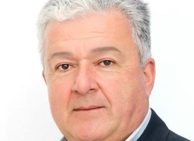 Ο Γιάννης Θεμέλαρος, από τη Λέρο, υποψήφιος και πάλι δίπλα στον Γιώργο Χατζημάρκο