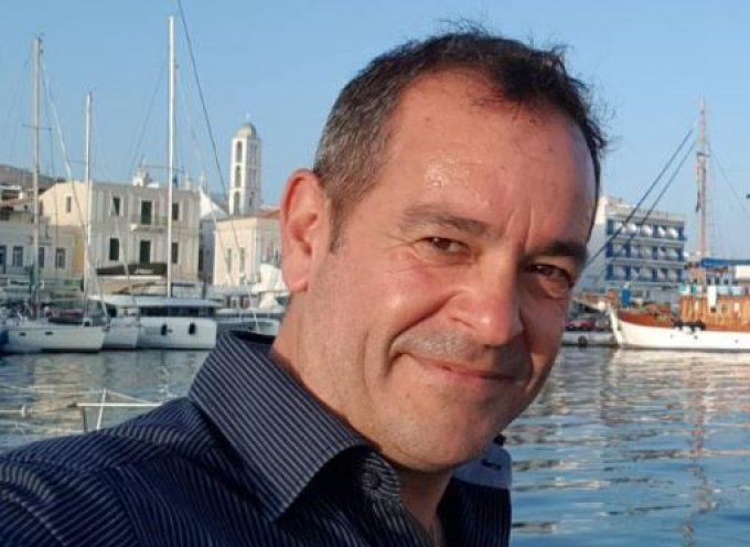 Ο Χρήστος Φιοράντης, από την Τήνο, υποψήφιος δίπλα στον Γιώργο Χατζημάρκο