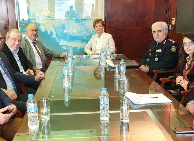 Ο Γ. Λεονταρίτης για τη συνάντηση με την Υπουργό Προστασίας του Πολίτη Όλγα Γεροβασίλη