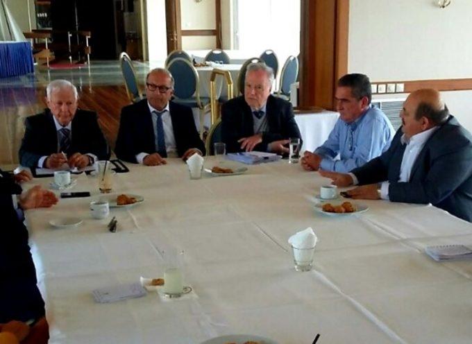 Ο Γ. Λεονταρίτης για τη συνάντηση με το Δ.Σ. της Ένωσης Εφοπλιστών Κρουαζιέρας