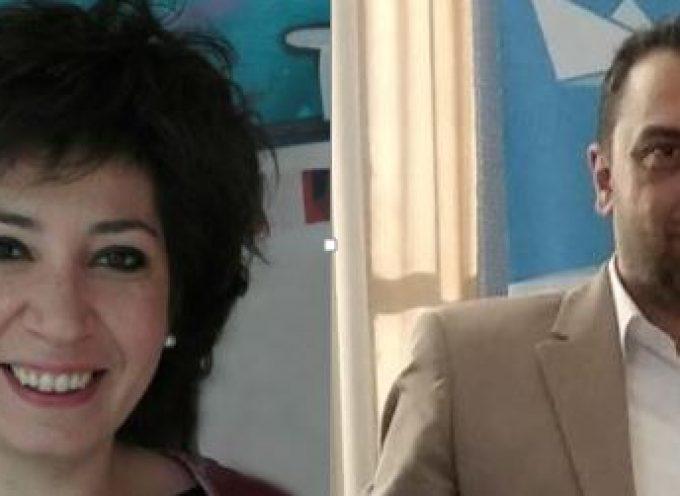 Η Άννα Μαυρουδή και ο Γιώργος Ηλιού με την Συμμαχία Νοτίου Αιγαίου