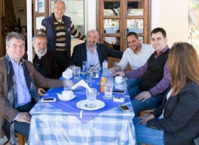 Στο Καστελόριζο ο υποψήφιος Ευρωβουλευτής του ΚΙΝΑΛ Γιωργος Νικητιάδης