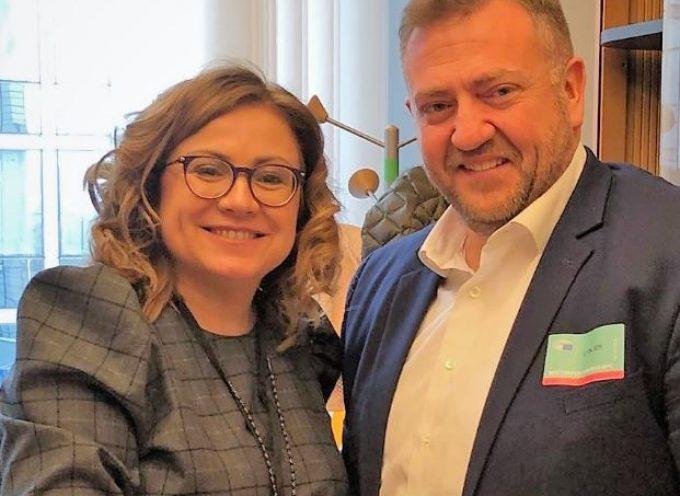 Με την Ευρωβουλευτή Μαρία Σπυράκη συναντήθηκε ο Μανόλης Ορφανός