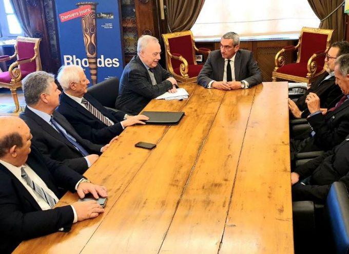 Συνεργασία του Περιφερειάρχη, Γιώργου Χατζημάρκου, με την Ένωση Εφοπλιστών Κρουαζιεροπλοίων