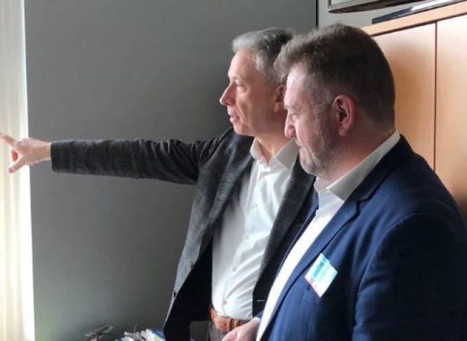 Με τον Ευρωβουλευτή Κώστα Χρυσογονο συναντήθηκε ο Μανόλης Ορφανός στις Βρυξέλλες