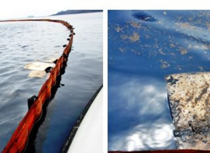 """Συντονιστική Επιτροπή Αγώνα Θηραίων Πολιτών για την Ανέλκυση του Κ/Ζ Sea Diamond: """" Ανελκύστε το ναυάγιο!"""""""