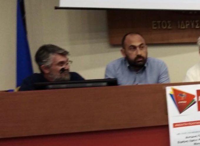 """Στην Πρωτεύουσα του Νομού ο Αντώνης Γάκης, έδωσε το """"παρών"""" στην κεντρική ομιλία όλων των υποψηφίων βουλευτών του ΣΥΡΙΖΑ Κυκλάδων"""