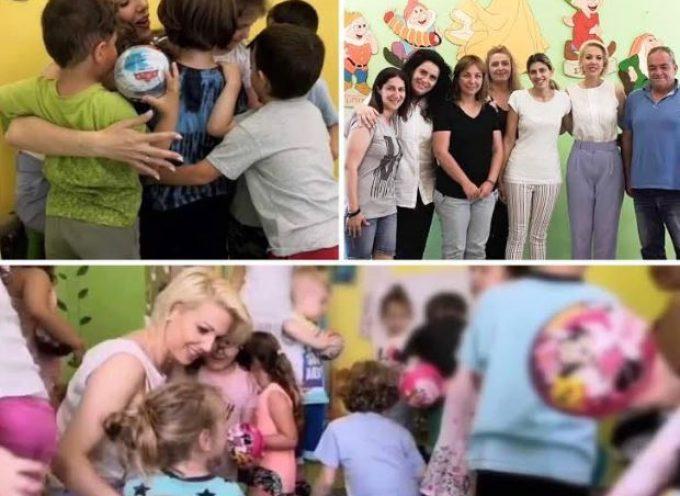 """Κατερίνα Μονογυιού: """" Είμαι στο πλάι κάθε νέας μητέρας"""""""