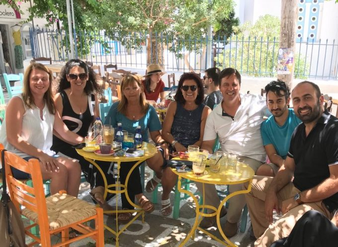 Την Ίο επισκέφτηκε ο υποψήφιος βουλευτής του ΣΥΡΙΖΑ Αντώνης Γάκης
