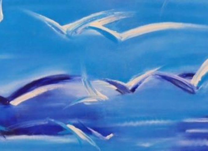 """Έκθεση τέχνης """"BIRDS TRAVEL – ΠΟΥΛΙΑ ΠΟΥ ΤΑΞΙΔΕΥΟΥΝ"""" στην Εστία του Πύργου"""