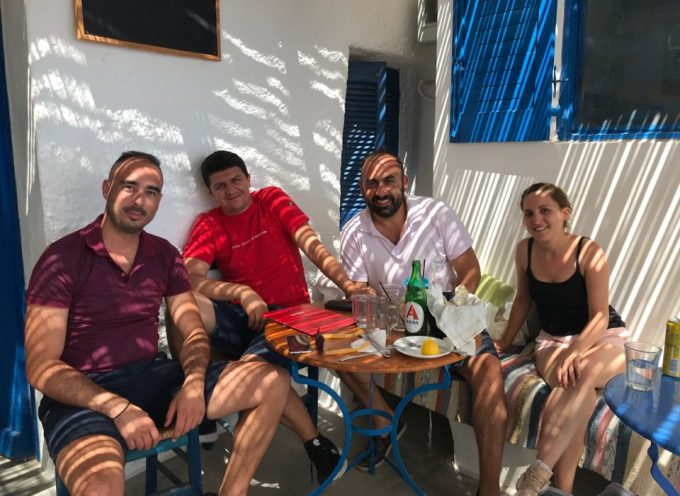 Στην Ανάφη βρέθηκε ο Αντώνης Γάκης, υποψήφιος Βουλευτής του ΣΥΡΙΖΑ στις Κυκλάδες