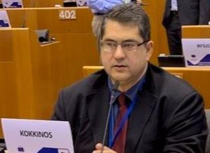 """Χαράλαμπος Κόκκινος: """"Η Ε.Ε. να δείξει την αλληλεγγύη της σε Ελλάδα και Κύπρο και να βάλει «φρένο» στις τουρκικές προκλήσεις"""""""