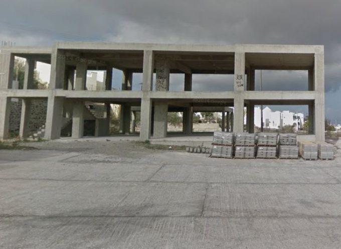 Αποπεράτωση Νέου Κτιρίου Λυκείου, προϋπολογισμός 600.000 ευρώ
