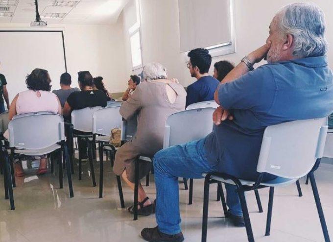 Ορέστης Χαραλαμπάκος – Περιοδεία στο Γενικό Νοσοκομείο Θήρας