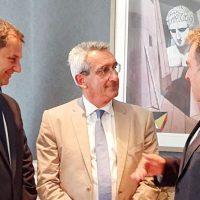 Συνεργασία του Περιφερειάρχη  Γιώργου Χατζημάρκου με τη νέα πολιτική ηγεσία του Υπουργείου Τουρισμού
