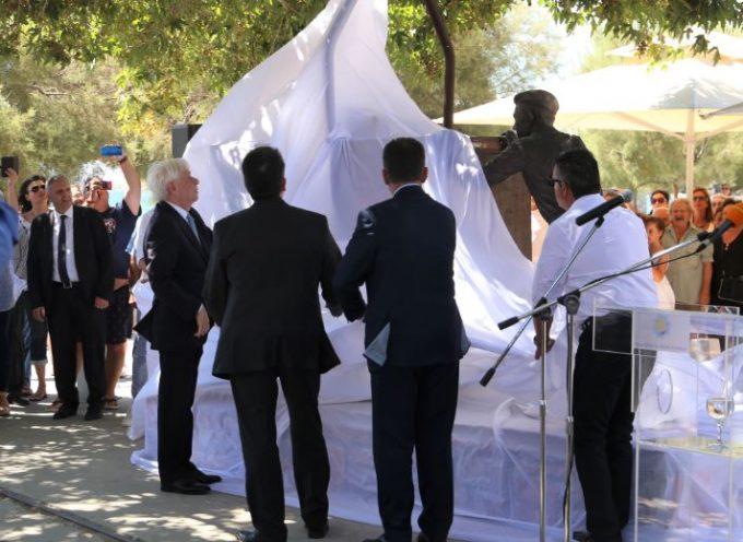 Στη Νάξο ο Πρόεδρος της Δημοκρατίας Π. Παυλόπουλος
