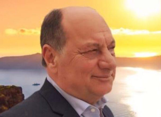 """Ο Επικεφαλής της Δ.Π. """"Μαζί Αλλάζουμε Σαντορίνη & Θηρασιά"""" κ. Άγγελος Ρούσσος στην εκπομπή """"Θηραϊκές καλημέρες"""""""