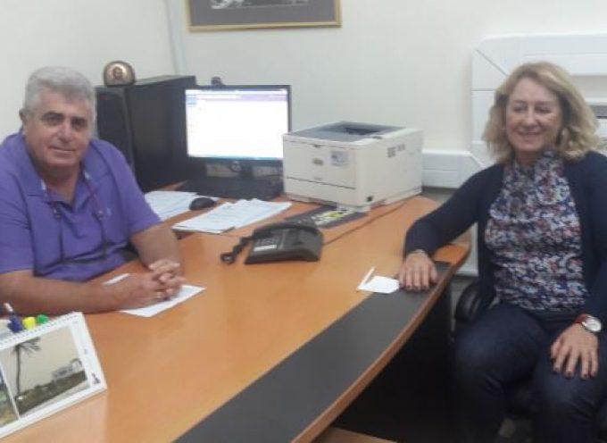 Συνάντηση του Αντιπεριφερειάρχη Φιλήμονα Ζαννετίδη  με την Διεύθυνση του ΟΠΕΚΕΠΕ