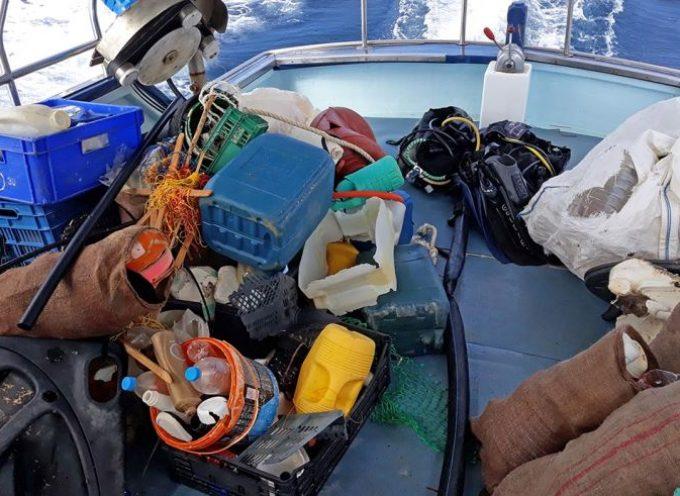 Dive In Action- «Συνεχίζεται ο υποβρυχιος καθαρισμός με την Ανάφη»