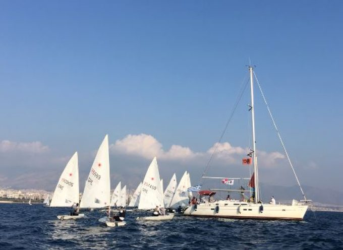 Στο Διασυλλογικό Αγώνα Ιστιοπλοΐας στον Πειραιά ο Ναυτικός Όμιλος Σαντορίνης