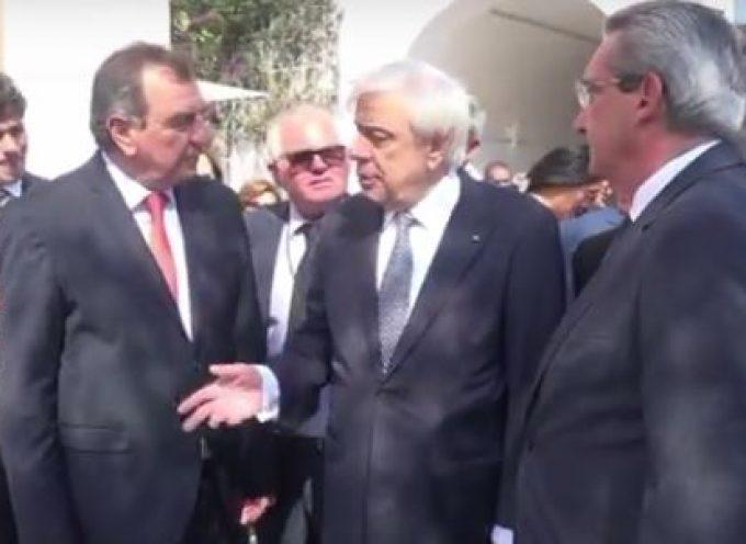Προκόπης Παυλόπουλος από Σαντορίνη: «Να σεβαστεί η Τουρκία το Διεθνές και Ευρωπαϊκό Δίκαιο»