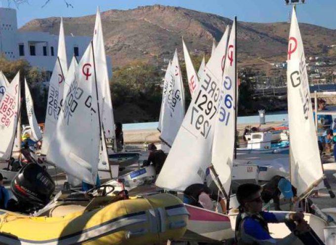 Στο Διασυλλογικό Αγώνα Ιστιοπλοΐας στη Σύρο ο Ναυτικός Όμιλος Σαντορίνης