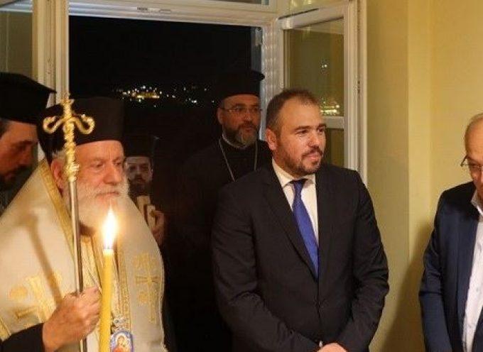 Εγκαινιάσθηκε το νέο πολιτικό γραφείο του Φίλιππου Φόρτωμα στη Σύρο