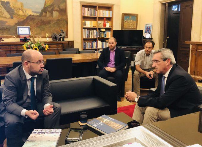 Ξεκίνησε η συνεργασία της Περιφέρειας με την Ευρωπαϊκή Τράπεζα Επενδύσεων