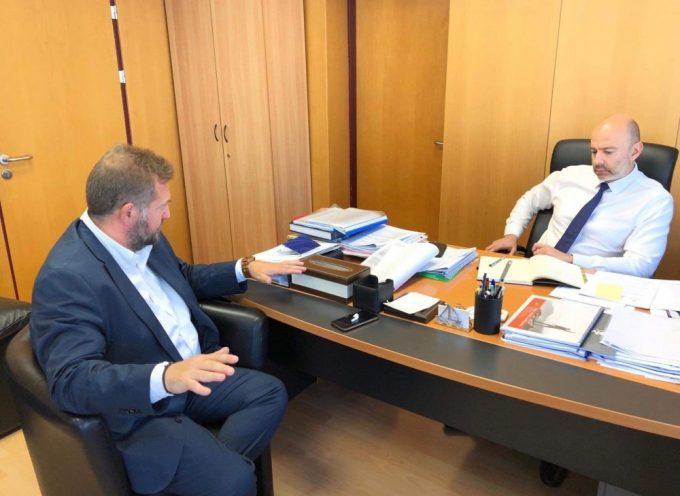Με τον υφυπουργό Ψηφιακής Διακυβέρνησης Γρήγορη Ζαριφόπουλο συναντήθηκε ο Μανόλης Ορφανός.