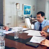 Νέα συνάντηση εργασίας του Δημάρχου Θήρας με τον Υπουργό τουρισμού
