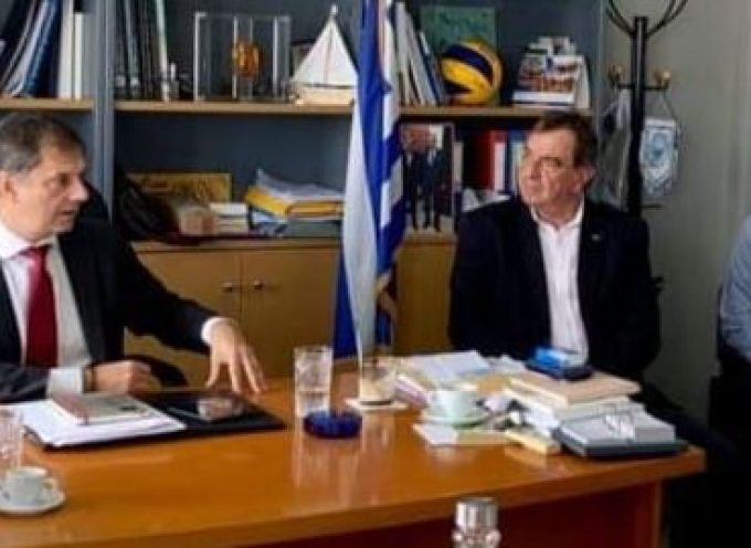 Νέα επίσκεψη φορέων της Σαντορίνης στο Yπουργείο Τουρισμού – Συνάντηση με τον κ. Θεοχάρη