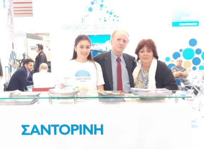 Παρούσα και στη Θεσσαλονίκη η Σαντορίνη στις εκθέσεις Philoxenia & Hotelia