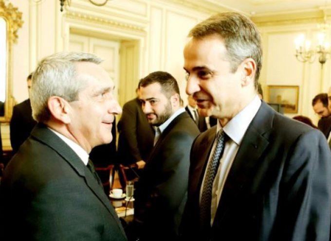 Στη συνάντηση των Περιφερειαρχών με τον Πρωθυπουργό ο Γιώργος Χατζημάρκος, για  ΕΣΠΑ και προσφυγικό – μεταναστευτικό