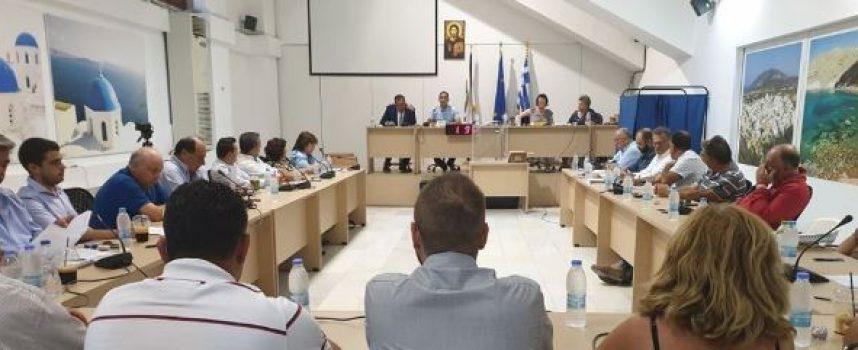 Συνεδριάζει την Τρίτη 10 Δεκεμβρίου το Δημοτικό Συμβούλιο Θήρας