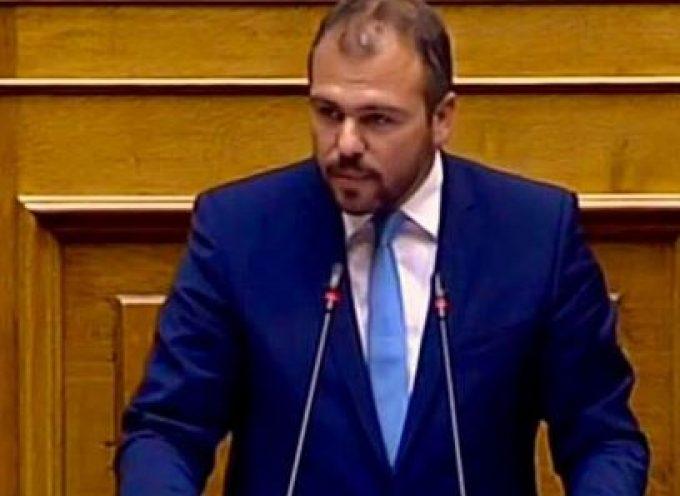VIDEO: Ομιλία Φ. Φόρτωμα στη Βουλή για την Αναθεώρηση του Συντάγματος με έμφαση στη νησιωτικότητα