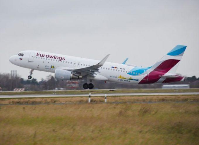 Eurowings: Απευθείας σε Σαντορίνη και Κω το καλοκαίρι του 2020