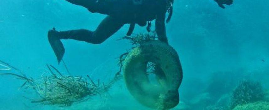 Dive In Action: «Καθαρισμός σε βάθος στο Αμμούδι της Οίας!»